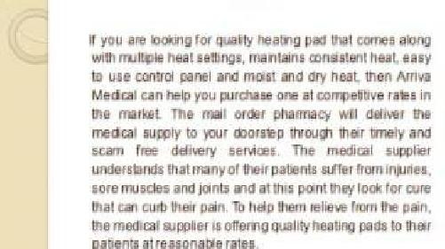 arriva diabetic supplies
