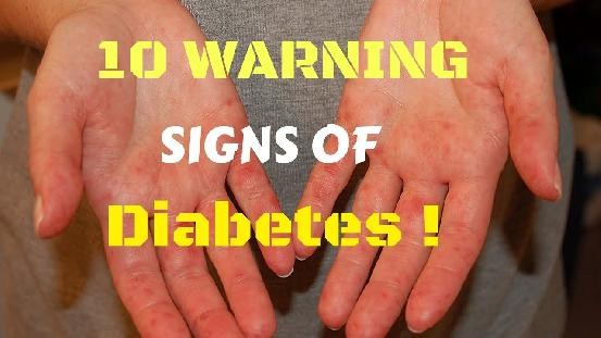 diabetes warning signs not to ignore