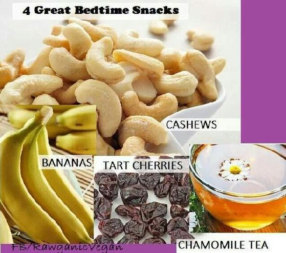 For good bedtime snacks for adults