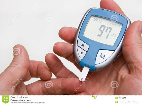 how to read diabetes meter