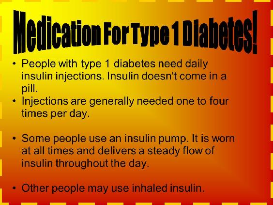 Type 1 Diabetes Cure Latest News - Medication For Diabetes