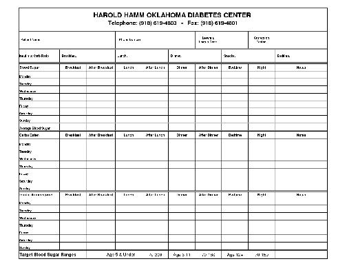 graphic regarding Printable Diabetes Log Book named Printable Diabetic issues Logs - Printable Diabetic issues Logbook
